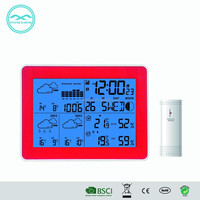 YD8230 WIFI LED Backlight Digital Table Clock With Weather Forecast