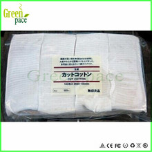 100% japan organic cotton pad with good price japanese organic cotton for RDA clone
