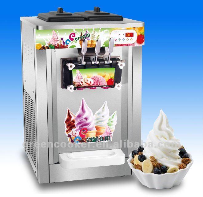 Bancada ice cream compras congelador