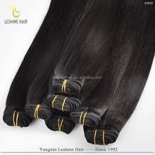 2015 Fashion Trade Assurance Fast Shipping Tangle Shedding Free 100% Human Hair Silky Yaki Perm Weave