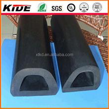rubber D shapes rubber fender extensions