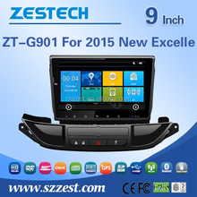 auto steering wheel for Buick 2015 new Excelle Auto radio car dvd for Buick car radio system Bluetooth usb/sd slot