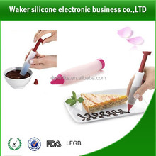 Silicone Write Pen Making Cake/Cookie/Pastry/Cream/Chocolate Decorating Syringes