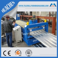 galvanized steel sheet metal manufacturing machine making roof color tile