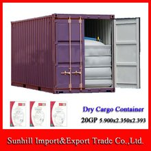20 Feet and 40 Feet International Sea Shipping Containers in Ningbo Container Yard