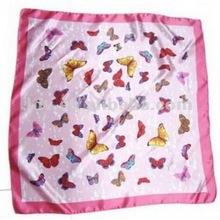 100% twill silk scarf 2012