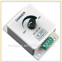 LED single color Rotary knob Wall Mounted led strip control Dimmer