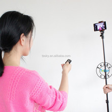 Wireless Mobile Phone Selfie sticks with Bluetooth Remote Control function, hot selling