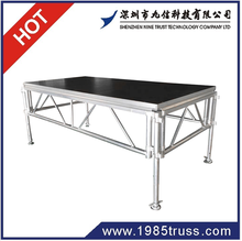 2015 hot sale aluminum frame wooden platform stage with CE Certification