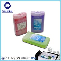 Reusable Ice Cooler Boxes Food Grade , Ice Bricks,Freezer Ice Box for fruits