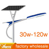 CE IP66 Bridgelux 45MIL led chip all-in-one solar street light