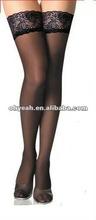 Latest design name brand black stockings