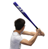 The Best Price High Quality 30 Inch 76.5cm Outdoor Sports Games Aluminum Alloy Baseball Bat Softball Bat Four Colors