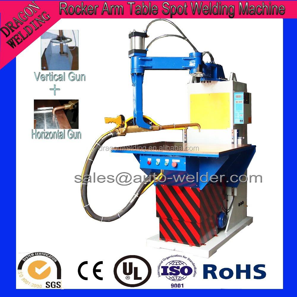 rocker arm spot welding machine