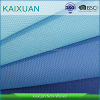 Colorful PP Spunbonded Nonwoven fabric/TNT in rolls, biodegradable pp spunbond nonwoven fabric