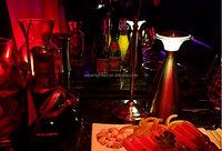 Brightness adjustable decorative night lights club led lights with shades