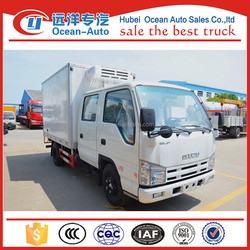 Japanese 3tons mini refrigerated truck