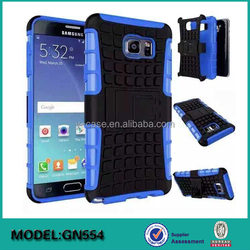 2 in 1 combo PC TPU back case for Samsung Galaxy Note 5