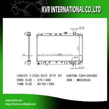 Fin Tube radiator for 1.5 LANCER OE No.: MB538548