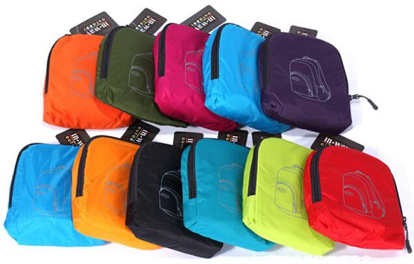 nylon pliable sac packable handy voyage l ger sac dos pliable sac dos sac dos id de. Black Bedroom Furniture Sets. Home Design Ideas