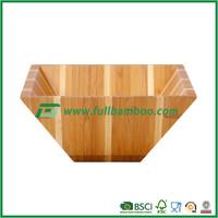 Food Grade Bamboo Bowl for Snack / Fruit / Salad / Vegetable