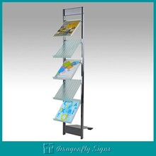 book magazine stand brochure display racks