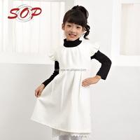 European style High Quality girls dress for autumn winter