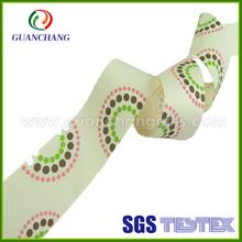 GuanChang OEM high quanlity character printed grosgrain ribbon