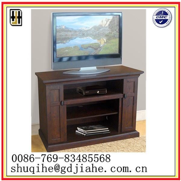 Walnut Wood Led Tv Stand