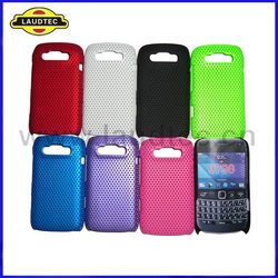 New Arrival ,Hybrid, Colorful Mesh Hard Case for Blackberry Bold 9790,Hard Back Case Cover