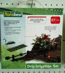 57pcs Home & Garden Drip Irrigation System Set