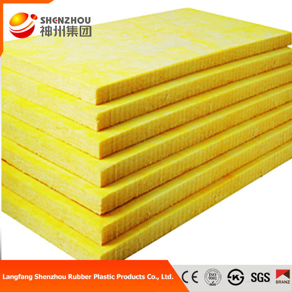 Heat Resistant Fiberglass Insulation Glass Wool Ceiling