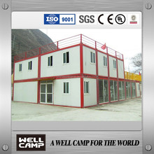 Thailand Project Double Floor Living Container Houses Modern Prefabricated Container Houses for Office