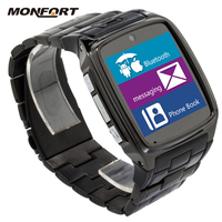 Wholesale latest HD waterproof touch screen gsm smart Bluetooth wrist watch phone android for sale