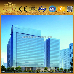 Aluminum Curtain Wall panel for project Zhejiang greentown blue qianjiang 3 period