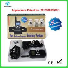 Remote LCD Multi-dog Rechargeable Used Dog Training Collar Pet Training Products