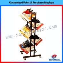 China manufacture hanging metal wine glass rack