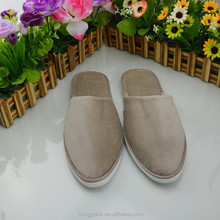 2015 Low price Factory OEM/ODM New Style Hot Sale Hotel Bedroom 100% cotton velours Slippers