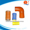 fuel resistant steel wire hump coupling silicone hose