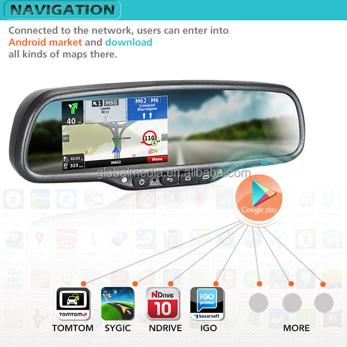 Android 5 0 Wifi Bluetooth Gps Navigation Bluetooth Rear