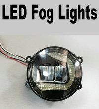 Factory direct Universal COB LED FOG LIGHT with cob angel eyes for TOYOTA CAMRY.INNOVA.PRIUS.YARIS.VITZ.BELTA.VIOS
