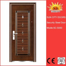 Cheap entrance security steel door main gate design SC-S050