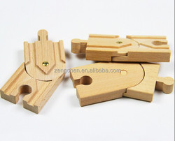 Wooden train track part, transfer track