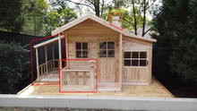 good quality wooden cubby house