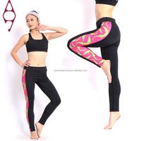 Hot sale sport women yoga fitness wear leggings