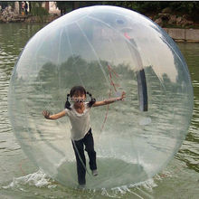 water bounce ball , LZ-W630 giant inflatable water bubble ball