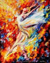 sex ballet girl dancing oil painting by numbers diy digital painting