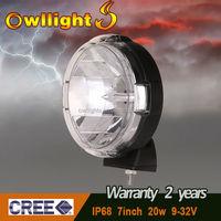 "7"" 20w 4x4 ATV SUV 20w JDM Auto Lights 20W LED Driving Light"