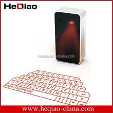 Fashion Design And Mini Size Cute Bluetooth Wireless Keyboard Projected Laser Keyboard