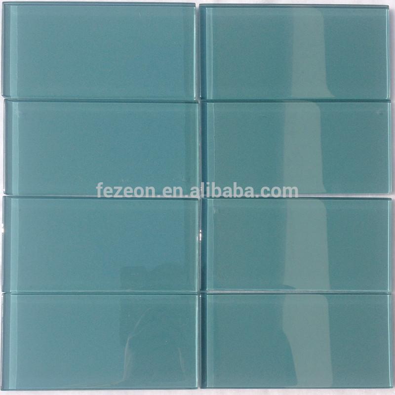 3x6 donkerblauw glas metro tegel, keuken metro tegel mozaïeken ...